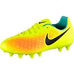 Nike JR MAGISTA OPUS II FG Fußballschuhe Kinder gelb/schwarz