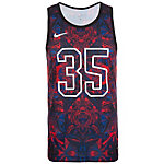 Nike Kevin Durant Hyper Elite Basketball Shirt Herren rot / blau / schwarz