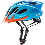 ABUS Aduro Fahrradhelm blau/orange