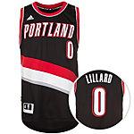 adidas Portland Trail Blazers Lillard Swingman Basketball Trikot Herren schwarz / rot / weiß