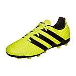 adidas ACE 16.4 Fußballschuhe Kinder neongelb / schwarz