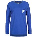 Nike Signal Langarmshirt Damen blau / weiß
