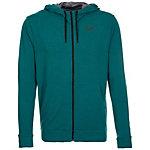 Nike Dri-FIT Fleece Trainingsjacke Herren dunkelgrün