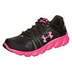 Under Armour Micro G Assert 6 Laufschuhe Mädchen schwarz / pink