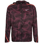 Nike Shield Impossibly Light Laufjacke Herren aubergine / neonrot