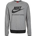 Nike International Crew Sweatshirt Herren grau / schwarz