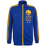 adidas Golden State Warriors Basics Trainingsjacke Herren blau / gelb