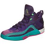 adidas John Wall 2 Boost Basketballschuhe Herren lila / türkis