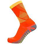 Nike Strike Mercurial Crew Fußballstrümpfe neonrot / gelb