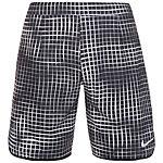 Nike Court Gladiator Printed Tennisshorts Herren schwarz / weiß