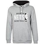 adidas GFX Brooklyn Nets Kapuzenpullover Herren grau