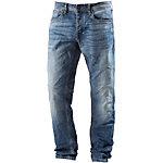 Jack & Jones JJIMIKE Straight Fit Jeans Herren light blue denim
