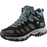 Merrell Ridgepass Mid GTX Wanderschuhe Damen grau/blau