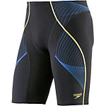 SPEEDO Pinnacle Jammer Herren schwarz/blau/gold
