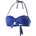 GUESS Bikini Oberteil Damen blau