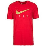 Nike Fly Droptail Basketball Shirt Herren rot / gold