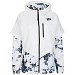 Nike International Windrunner Kapuzenjacke Damen weiß / schwarz