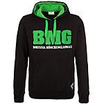 KAPPA Borussia Mönchengladbach Kapuzenpullover Herren schwarz / grün
