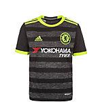 adidas FC Chelsea 16/17 Auswärts Fußballtrikot Kinder schwarz / grau / gelb