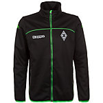 KAPPA Borussia Mönchengladbach Trainingsjacke Herren schwarz / grün