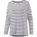 Billabong Essential Langarmshirt Damen weiß/schwarz