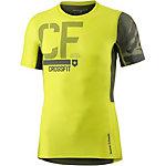 Reebok Crossfit Kompressionsshirt Herren gelb