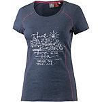 OCK T-Shirt Damen blau