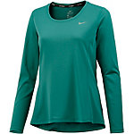 Nike Dri-Fit Contour Laufshirt Damen petrol
