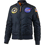 Alpha Industries VF Nasa Wmn Bomberjacke Damen dunkelblau