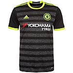 adidas FC Chelsea 16/17 Auswärts Fußballtrikot Herren schwarz / grau / gelb