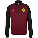 Nike Manchester City Authentic N98 Track Trainingsjacke Herren schwarz / rot / gelb