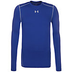 Under Armour ColdGear Compression Crew Kompressionsshirt Herren blau / grau
