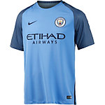 Nike Manchester City 16/17 Heim Fußballtrikot Herren blau