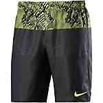 Nike Squad Funktionsshorts Herren gelb/schwarz