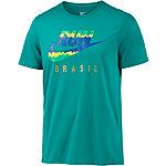 Nike Brazil Laufshirt Herren petrol