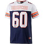 Majestic Athletic Denver Broncos Fanshirt Herren blau/weiß/orange