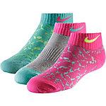 Nike Socken Pack Jungen türkis/grau/pink