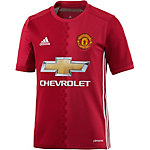 adidas Manchester United 16/17 Heim Fußballtrikot Kinder rot