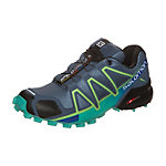 Salomon Speedcross 4 Laufschuhe Damen blau / grün