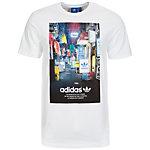adidas Street Photo T-Shirt Herren weiß / bunt