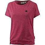 Naketano Schnella Baustella T-Shirt Damen rot