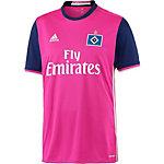 adidas Hamburger SV 16/17 Auswärts Fußballtrikot Herren rosa