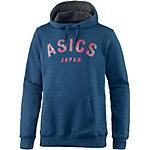 ASICS Logo Hoodie Herren blau