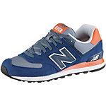 NEW BALANCE ML 574 Sneaker Herren blau