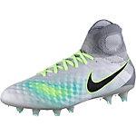 Nike MAGISTA OBRA II FG Fußballschuhe Herren grau/grün