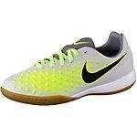 Nike JR MAGISTA OPUS II IC Fußballschuhe Kinder grau/grün