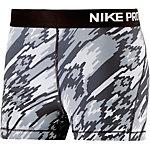 Nike Pro Dry Fit Shorts Damen schwarz/grau