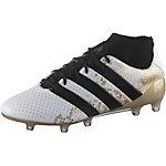 adidas ACE 16.1 FG PRIMEKNIT Fußballschuhe Herren weiß/gold