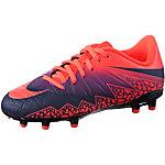 Nike JR HYPERVENOM PHELON II FG Fußballschuhe Kinder orange/lila