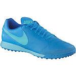 Nike TIEMPOX GENIO II LEATHER TF Fußballschuhe Herren blau